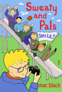 Sweaty and Pals Smile by Mac Black